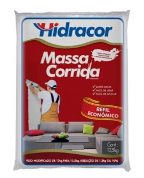 MASSA CORRIDA HIDRACOR 13,5KG