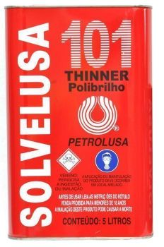 THINNER PETROLUSA SOLVELUSA 101 5L