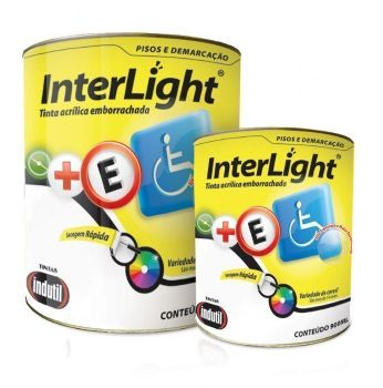 TINTA ACR�LICA EMBORRACHADA FOSCO DEMARCA��O DE TR�FEGO INDUTIL INTERLIGHT 3,6L