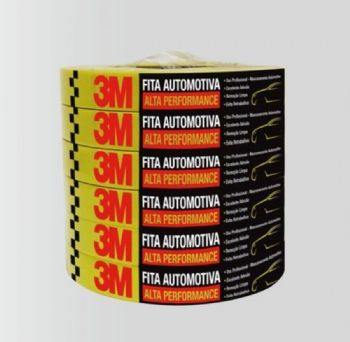 FITA CREPE AUTOMOTIVA 18MMX40M ALTA PERFORMANCE 3M